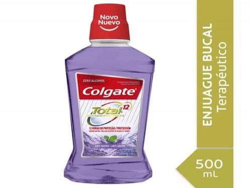 Enjuague Bucal Colgate Total 12 Professional Tartar Defense 500 Ml
