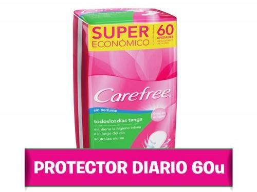 Protectores Diarios Carefree® Todos Los Dias Tanga X 60 U