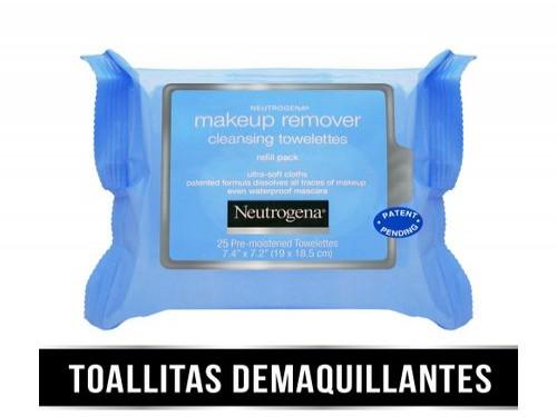 Toallitas Desmaquillantes Neutrogena® Piel Sensible X 25 U