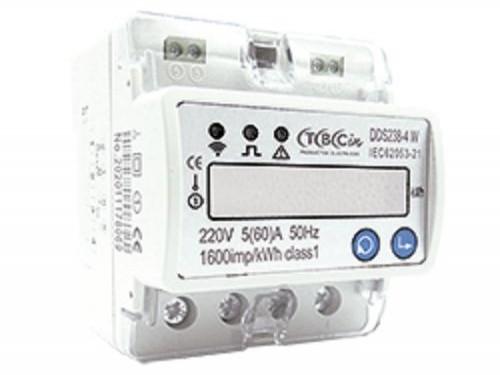 Medidor de consumo monofásico Wi-Fi TBCin