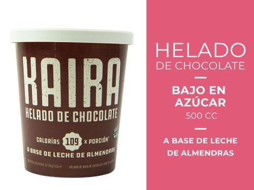 Helado de Chocolate Bajo en azúcar 500 cc