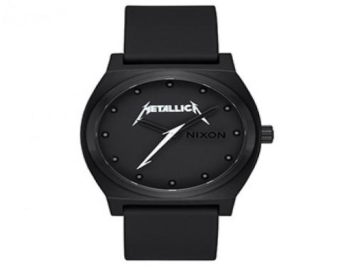 Reloj Analógico Time Teller All Black Metallica