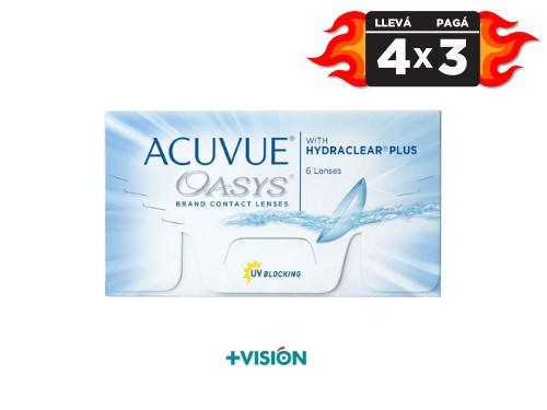 Lentes de contacto Acuvue Oasys | promo 4x3.