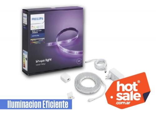 Tira LED HUE PLUS V4 20,5W blanco y colores uso int x 2mts