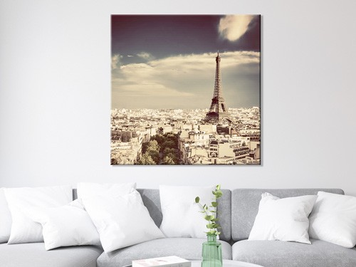 Cuadro en lienzo con tu foto 100x100cm Focu