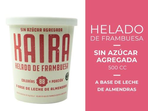 Helado de Frambuesa Sin azúcar agregada 500 cc