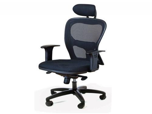 Silla para sala de reuniones Staples® Citiz con cabezal Ecocuer Negro