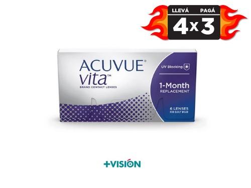 Lentes de contacto Acuvue Vita | promo 4x3.