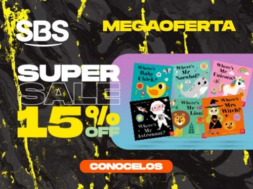 SBS PRECIO ESPECIAL HOT SALE 15 % OFF