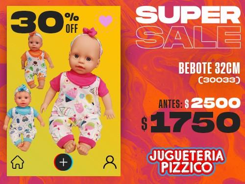 Bebote 32cm Mi Primer Bebe Con Ropita Fenix (30033)