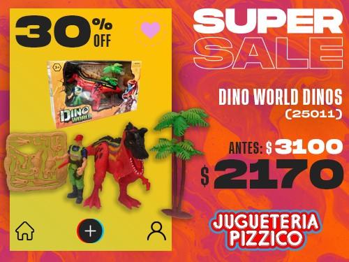Juego Dino World Dinosaurio Fenix (25011)
