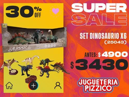 Set De Dinosaurios Fenix (25043)