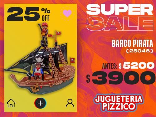 Barco Pirata Playset Fenix (25048)
