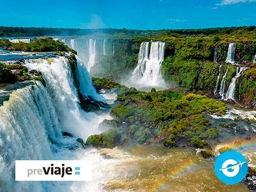 Paquete Iguazú: Vuelo + Hotel + Traslados (Cataratas, Argentina)