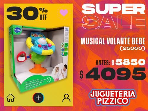 Musical Infantil Volante Con Ventosa Fenix (25060)