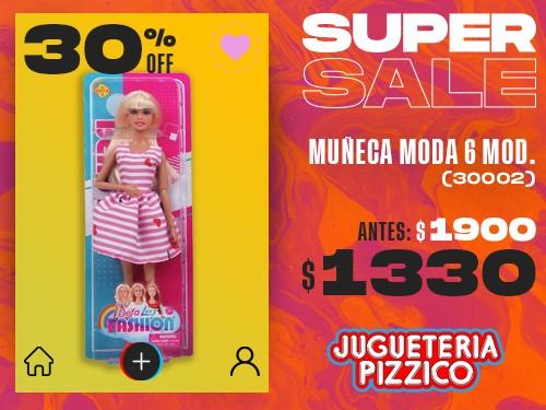 Muñeca Tipo Barbie Fashion Moda2 Fenix (30002)