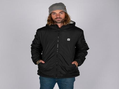 Campera Elkins Alder Sherpa Jacket Negro
