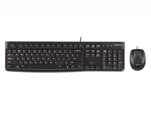 Combo teclado y mouse Logitech MK120 USB (Español) y Mouse