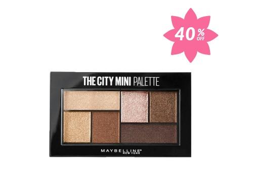 Paleta de Sombras de Ojos The City Mini Palette Maybelline