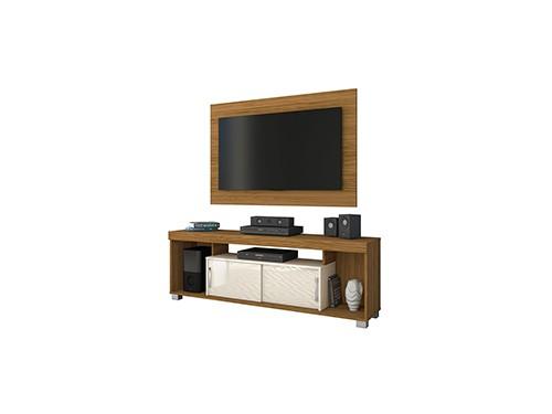 Mueble Para Tv Rack Mesa Organizador Con Panel Breno