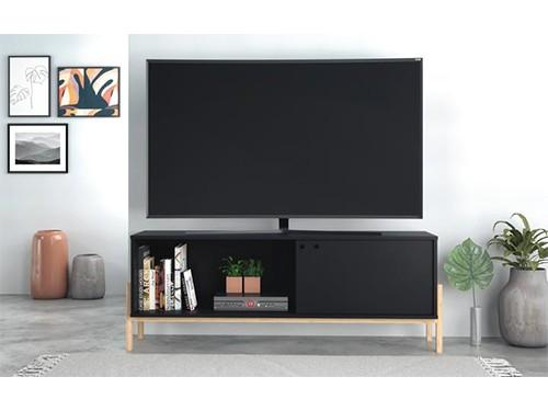 Rack Mesa Mueble Para Tv Moderno Uma