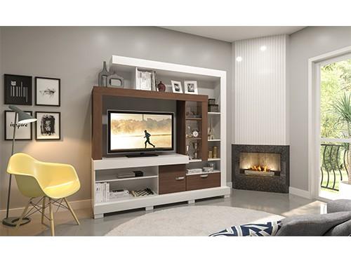 Mueble Para Tv Rack Mesa Con Panel Elle