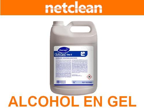 Alcohol en Gel c/suavizante Des-E Diversey 5L