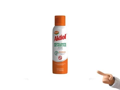 Repelente De Insectos Aktiol Larga Duración Hasta 6 Horas X 143 Ml