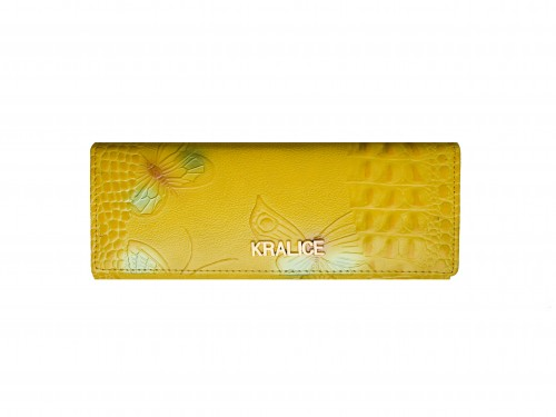 Billetera de mujer Aydin importada cuero