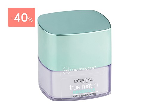 LOREAL PARIS - POLVO COMPACTO TRUE MATCH MINERAL 1 FINISHING