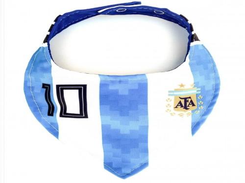 Babero Bandana Argentina Impermeable Reversible- Hurra!