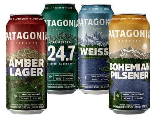 Patagonia - Bohemian Pilsener + Weisse + Amber Lager + 24.7 Ipa