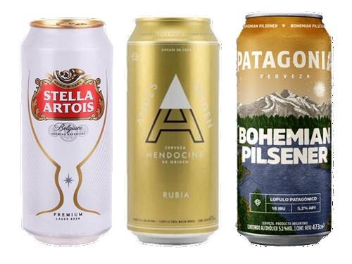 Combo Golden - Stella Artois + Andes Rubia + Patagonia Bohemian