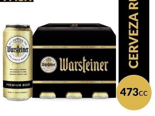Warsteiner - Premium 473ml x6