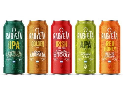 Rabieta - Golden + IPA + Red Honey + APA + Red Irish