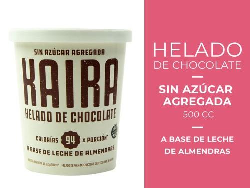 Helado de Chocolate sin azúcar agregada 500 cc