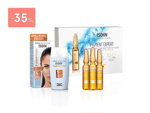 ISDIN - Combo Isdinceutics Pigment Expert + Fusion Water 50+