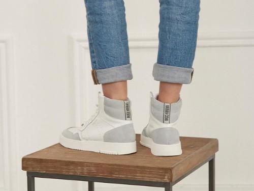 Zapatillas botitas de cuero, Urban Cow