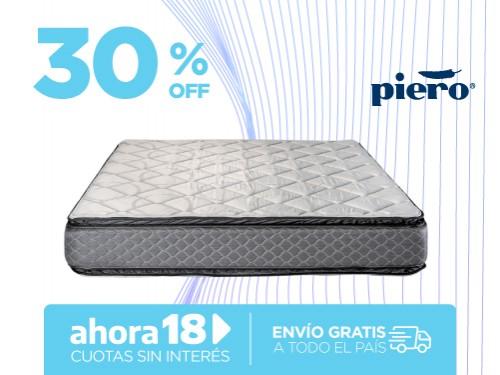 Colchón Piero Namasté Pillow 190x140 Espuma 2 plazas