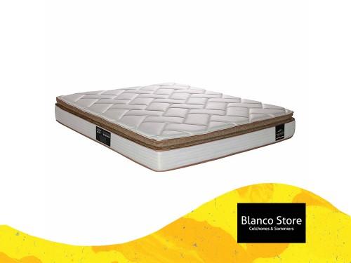 Colchon King Koil Finesse Pillow - 2 Plazas 190 x 140 Resortes LFK
