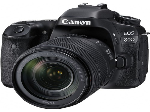 Camara Canon EOS 80D 18-135 mm IS STM