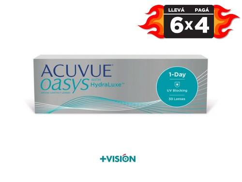 Lentes de contacto Acuvue Oasys 1 day | promo 6x4.