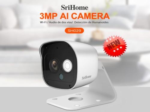 Cámara Ip Hd 3mp 1296p - Wifi - Interior Y Exterior- Audio de 2 Vías