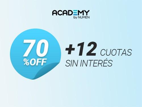 Curso de Marketing Digital (Título Oficial) 70%OFF y 12 cuotas s/int.