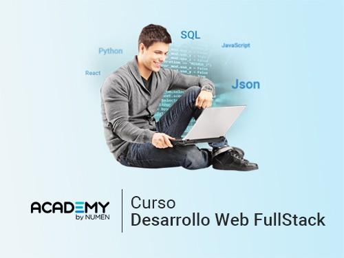 Curso de Desarrollo Web Full Stack  80%OFF en un pago