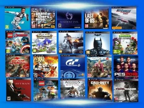 Pack 260 Juegos Ps3 Playstation 3  DIGITALES - Sistema Hen