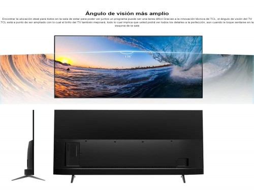 """Smart TV TCL 32"""" HD Android Prime Disney+ L32S60A"""