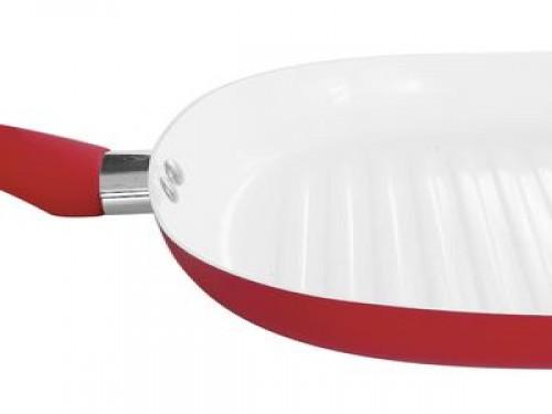 Bifera ceramica 25 cm Rojo Carol (41902)