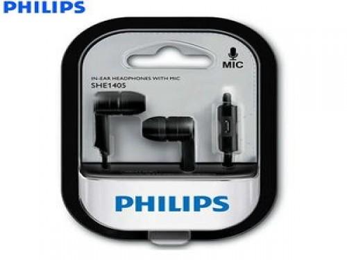 Auricular Philips In Ear N (SHE1405BK10)