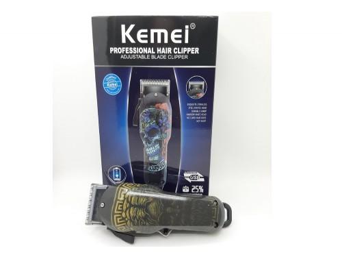 Máquina de Corte Kemei Calavera KM-735
